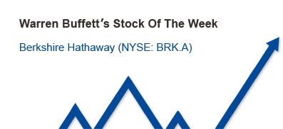 Warren Buffetts Stock of the Week