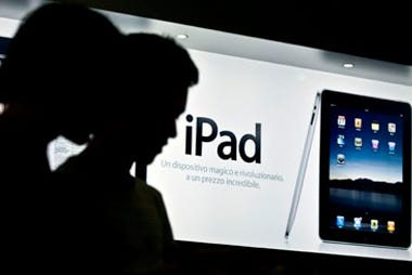 Apple To Release Three iPads Next Quarter (AAPL, IBM)