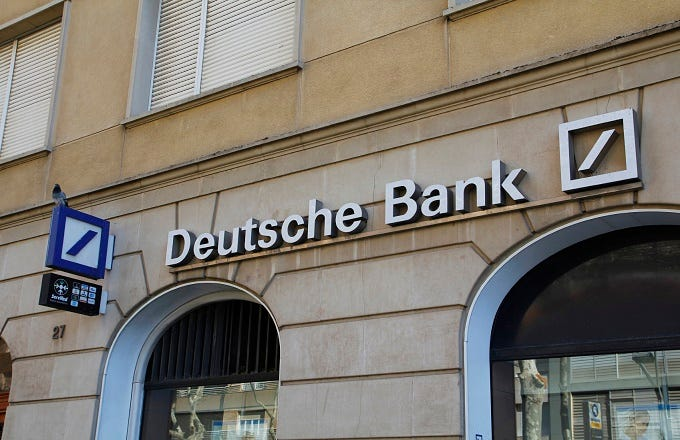 Deutsche bank forex account