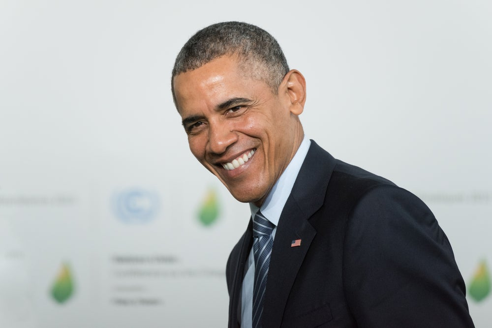 How would you relate the middle passage to barak obama running for presidency?