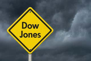 There's more than one problem with the Dow.