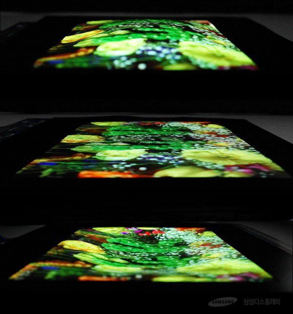 Samsung Shows Off OLED Screen That Can Bend and Stretch (SSNLF)