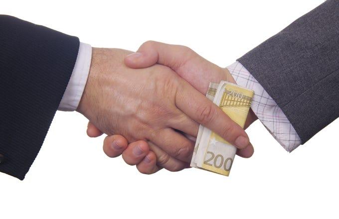 Sets $800 million forex-probe provision