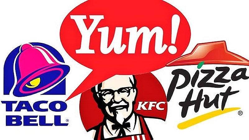 Yum brands stock options