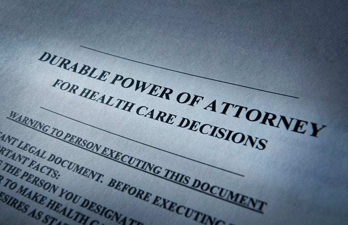 Image result for Durable Power Of Attorney
