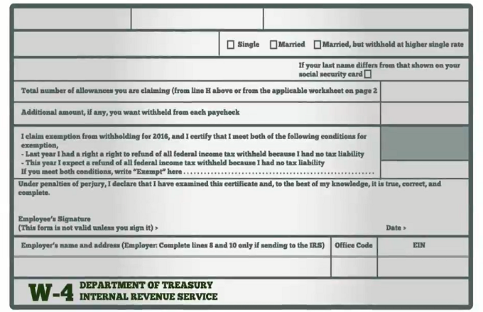 How to Fill Out Your W4 Form – Irs Social Security Worksheet