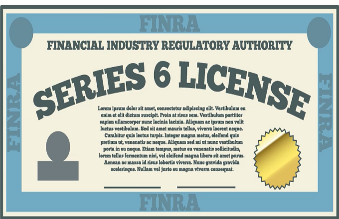 Series 7 and 66 security industry licenses