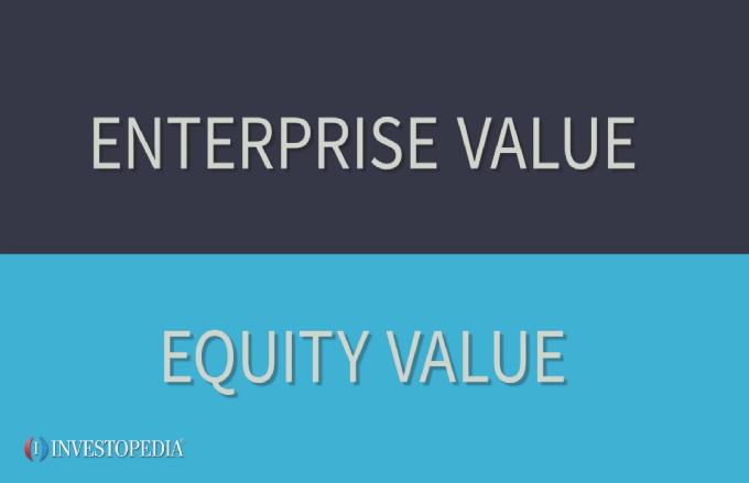 Stock options enterprise value