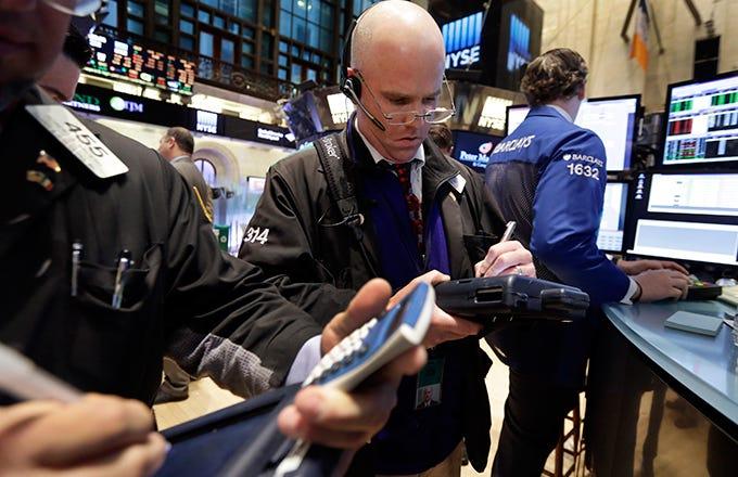 Stock broker median salary