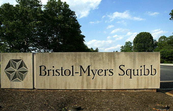 Bristol myers stock options
