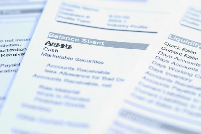 Reviewing Assets On The Balance Sheet