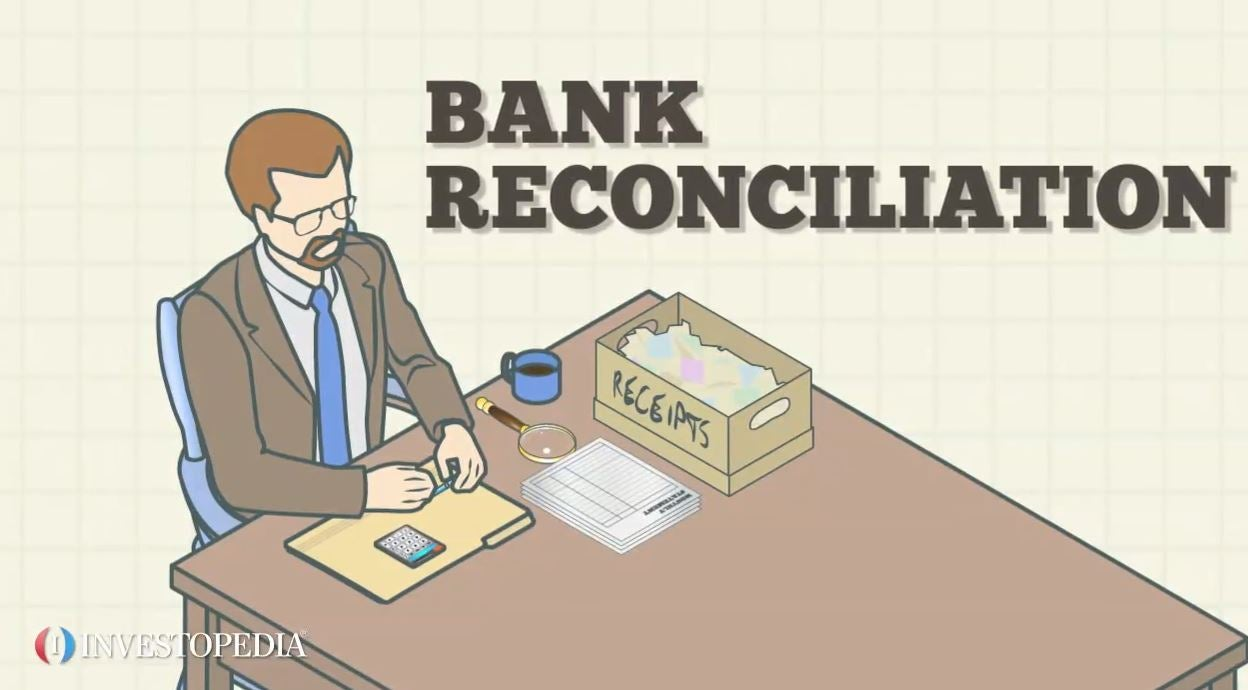 Month End Bank Reconciliation Template