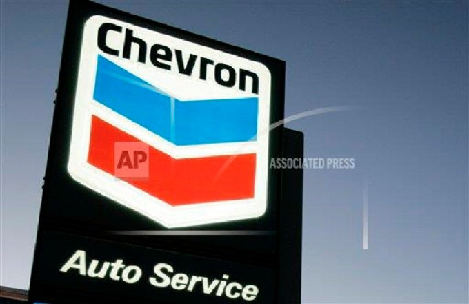 How Chevron Found Itself Spanning The Globe