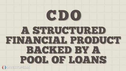 A Primer On Collateralized Debt Obligation (CDOs)