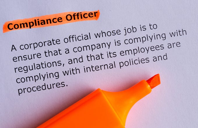 Compliance Officer Job Description And Average Salary  Investopedia