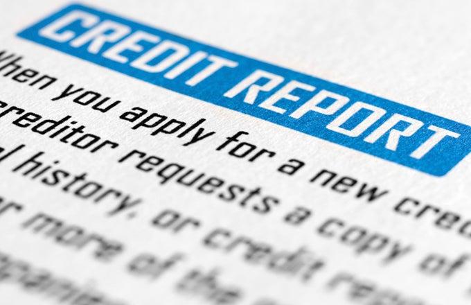 Credit Report Alert!