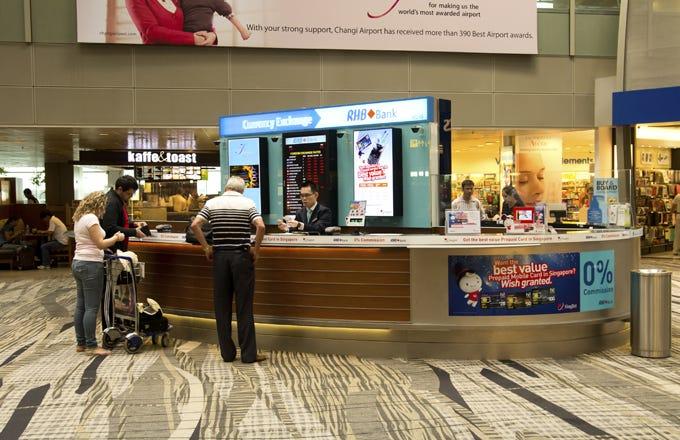 Forex at changi airport