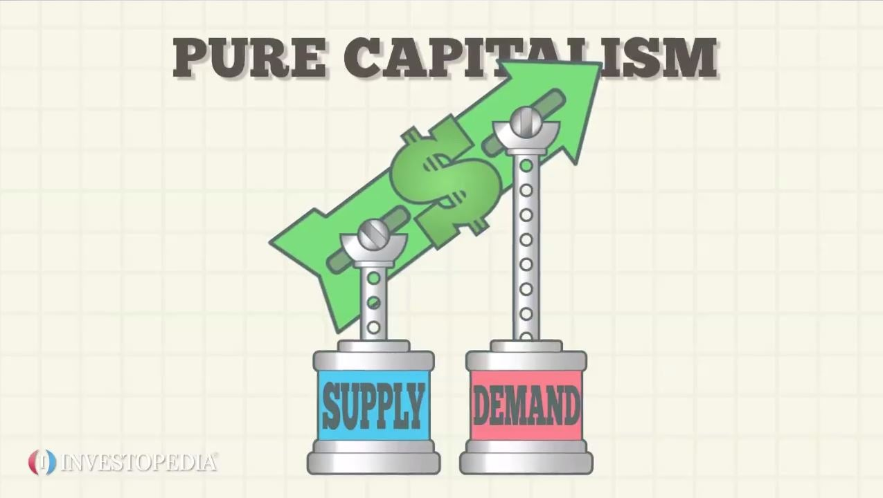 main characteristics of capitalist economies  mixed economic system