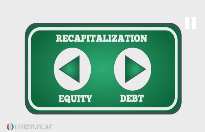 Recapitalization stock options