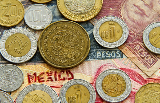 Forex mexican peso to usd