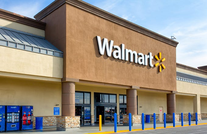 Wal Mart Stores  Inc   NYSE  WMT   is the largest brick and mortar retailer  in the world  In the 2015 fiscal year  the company reported nearly  486  billion. Top 4 Companies Owned By Walmart  WMT    Investopedia