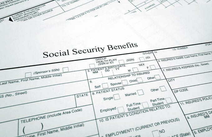 Types Of Social Security Benefits – Social Security Application Form