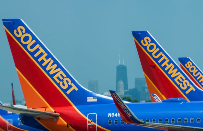 Southwest airlines stock options