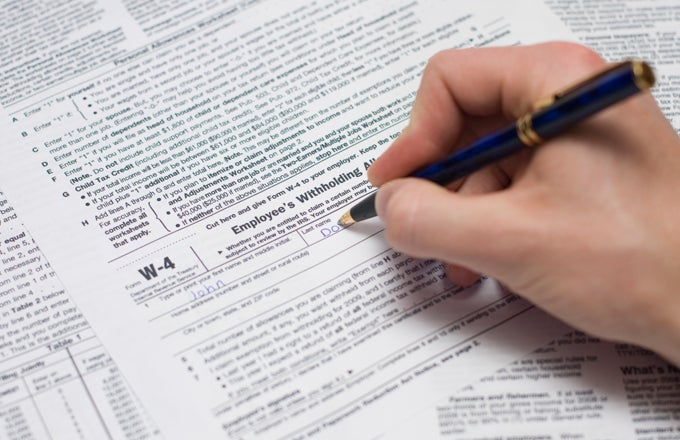 The Purpose Of The IRS W-4 Form