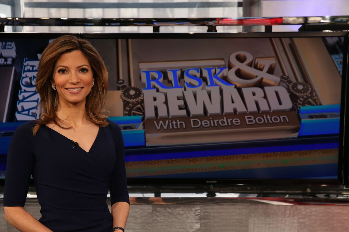 Caption: Deirdre Bolton looks fabulous on her show Risk and Reward. There are no any pictures of Deirdre and her husband together. The couple never gives any public appearances.