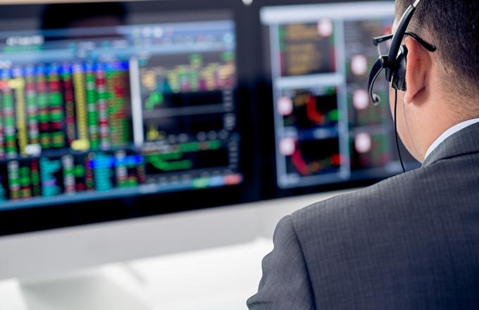 Bloomberg bond trading system