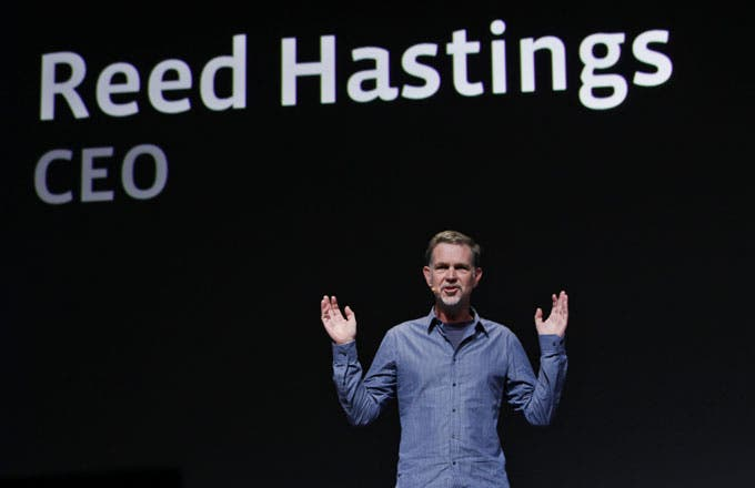Netflix is in its own orbit right now. Thanks in Part from Reed Hastings