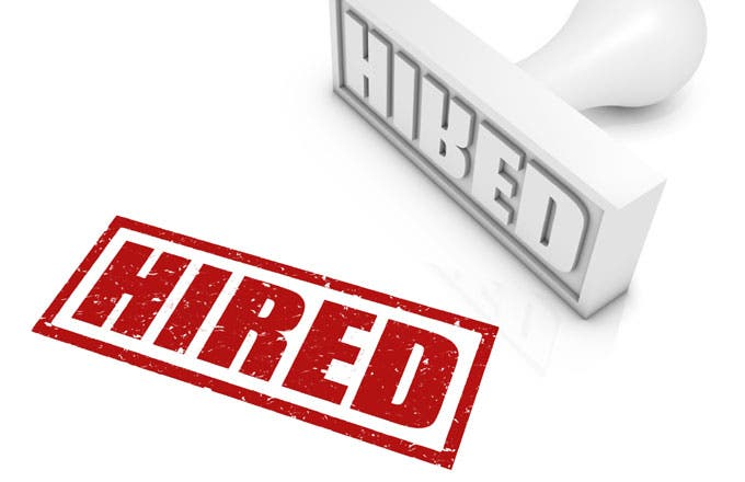 Use these five steps to get hired.