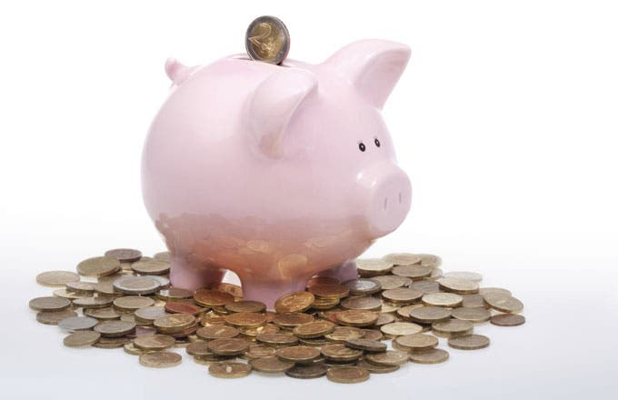 Cash set aside for a rainy day can come in handy in case of an emergency. Set some money aside in case you need it.