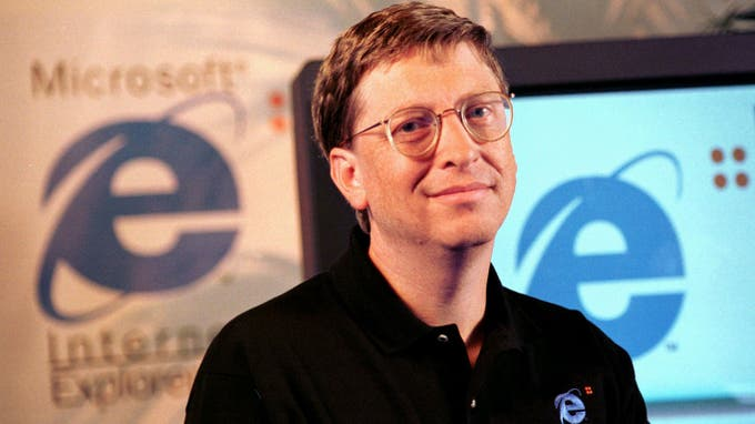 Bill Gates started Microsoft during the recession of 1973 to 1975.