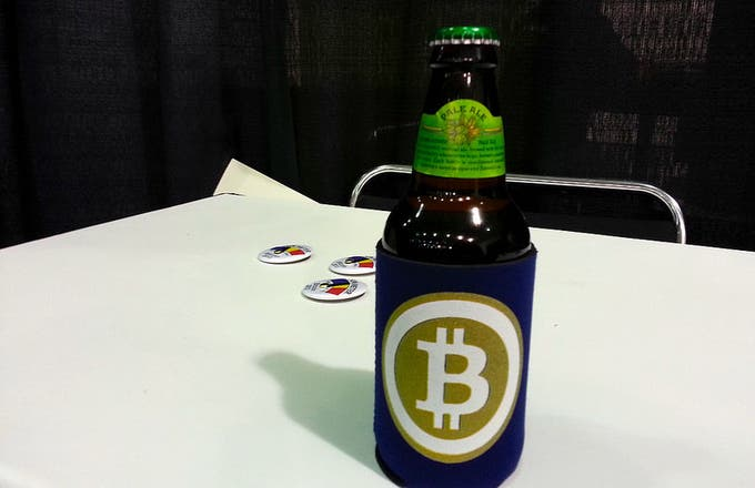 bitcoin is worth at least a beer