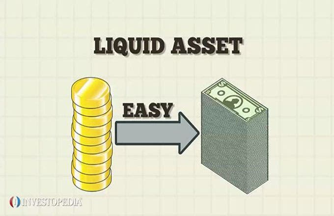 The easier it is to convert the asset, the more liquid the asset is considered.