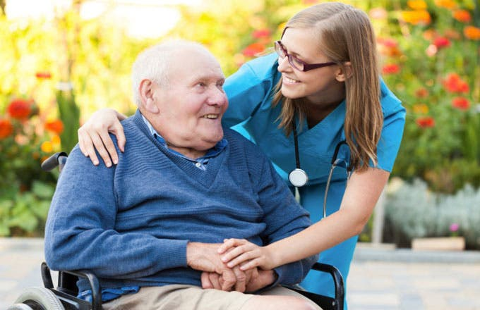 Medicare Advantage is a program in which seniors receive Medicare coverage, including Parts A and B, through a private insurer.