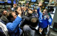 The NYSE floor excitement after a rebound. Being a stock trader can be highly gratifying.