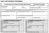 How to fill out a HUD-1 form explaining what each line or part of the form is about