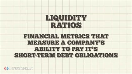 Using Liquidity Ratios