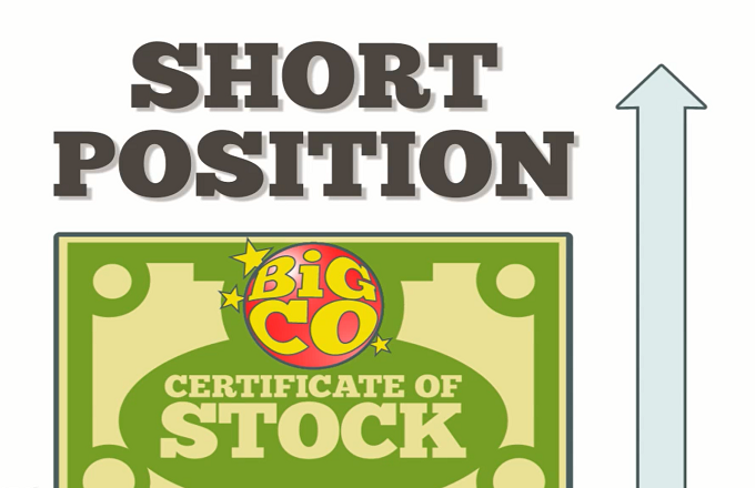 Options trading short position