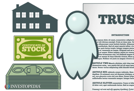 Stock options living trust