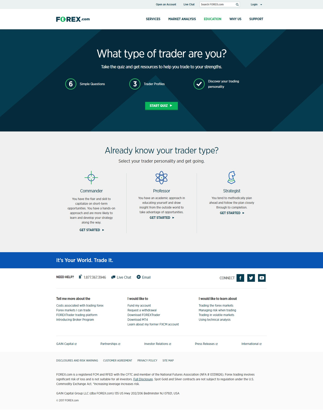 Forex forextrader platform walkthrough investopedia preview of learning your trading personality and tools baditri Choice Image