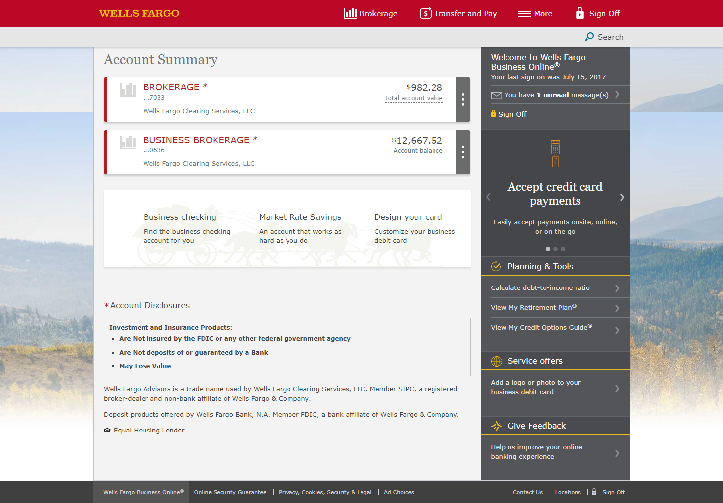 Wellstrade by wells fargo platform walkthrough investopedia the account summary link is on the top left of the screen along the menu bar magicingreecefo Choice Image