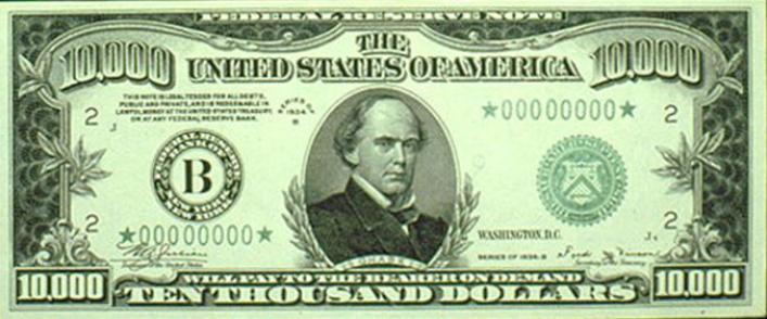 Biggest domination of american money