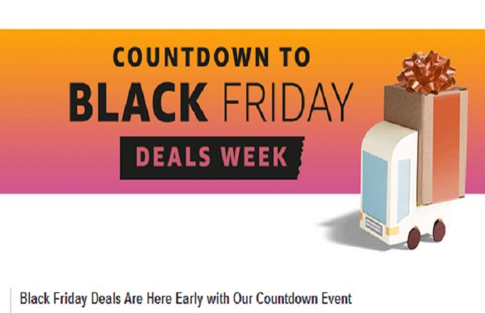 Amazon Opens Black Friday Shop Early (AMZN)
