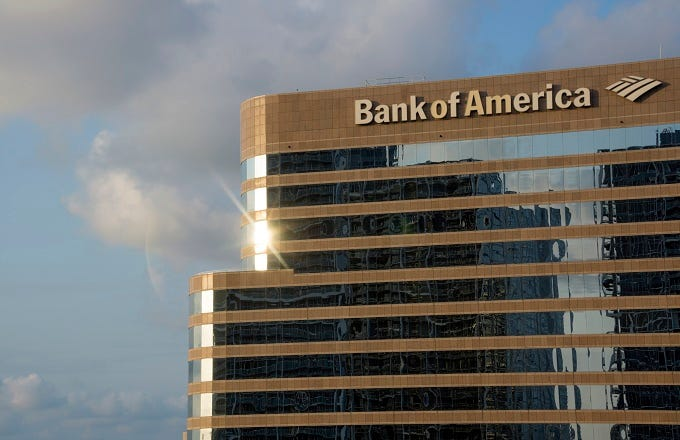 Bank of America Tests Automated Branches (BAC)