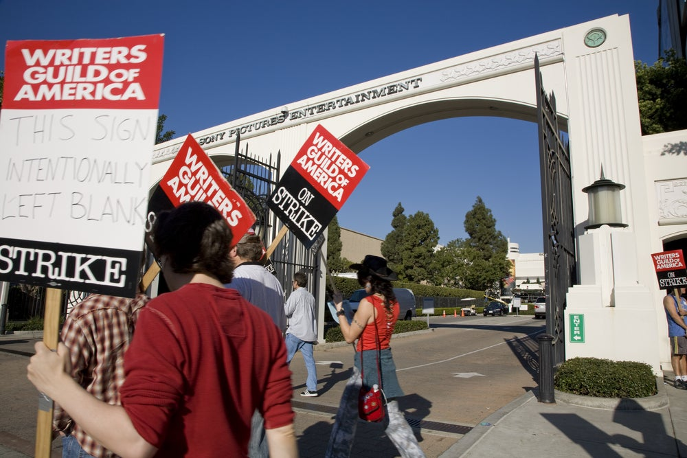 Writers Guild Authorizes Strike, Negotiations Continue | Investopedia