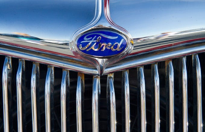 Ford stock trades ex dividend wednesday f investopedia for Ford motor company stock dividends