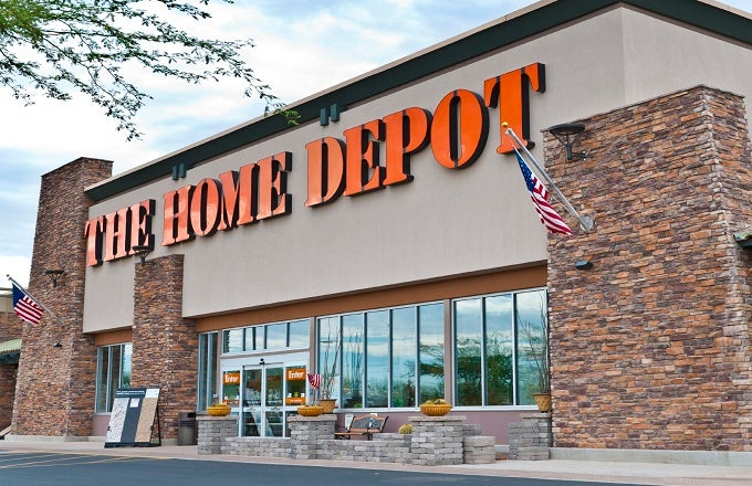 Home depot growing without new stores report hd for Shop home depot